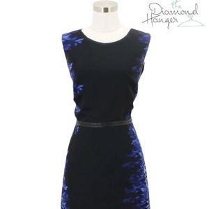 F1 ELIE TAHARI Designer Dress Size 6 Small S Black